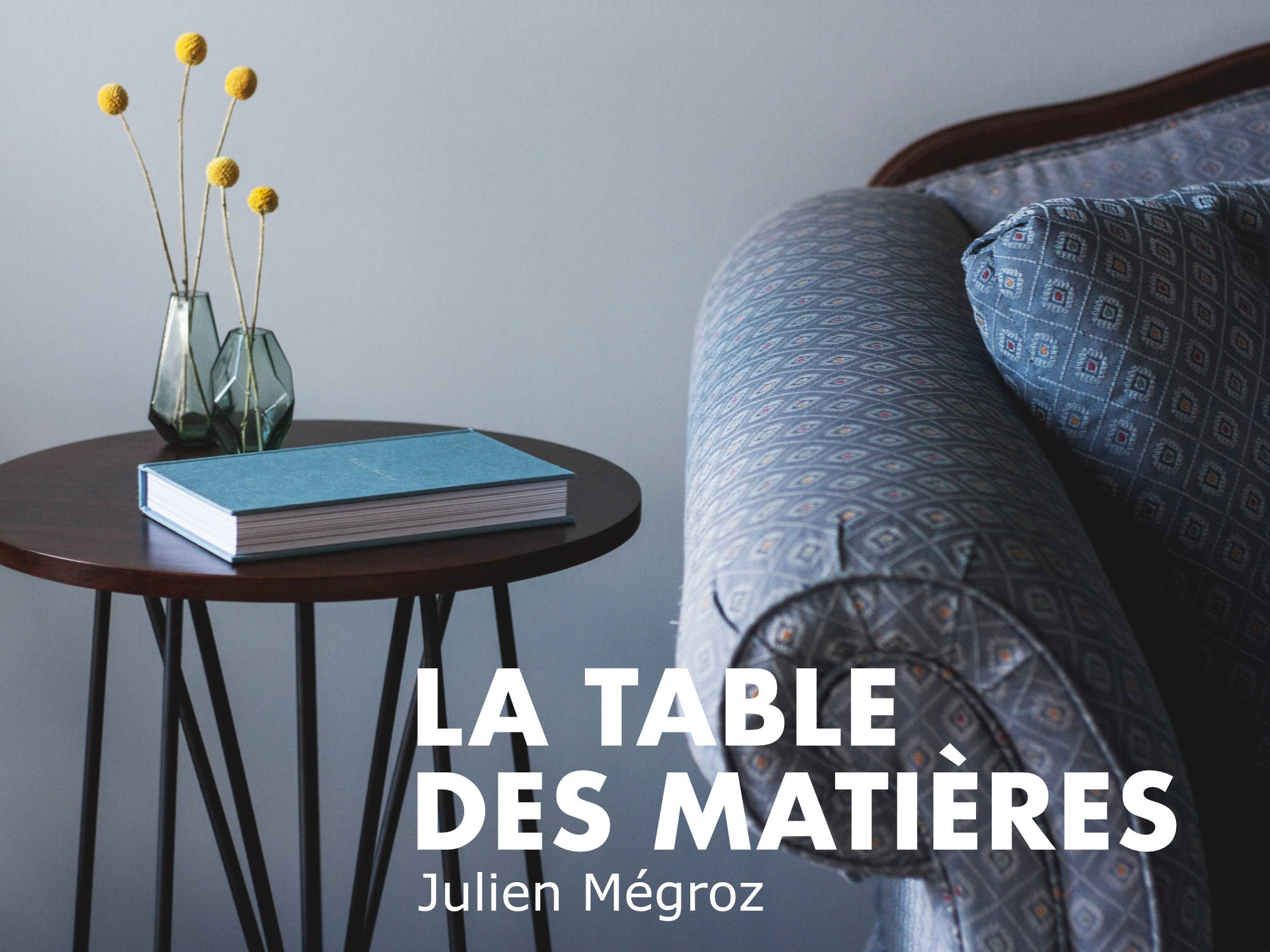 'La table des mati�res' - spectacle en appartement