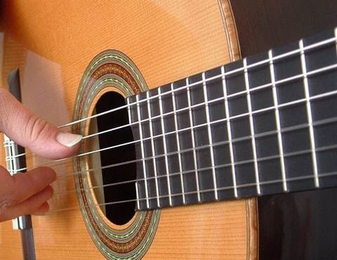 Audition de guitare de l'EJCM